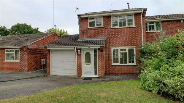 3 Bedrooms Semi Detached House for sale in Stewart Drive, Loughborough, Leicestershire