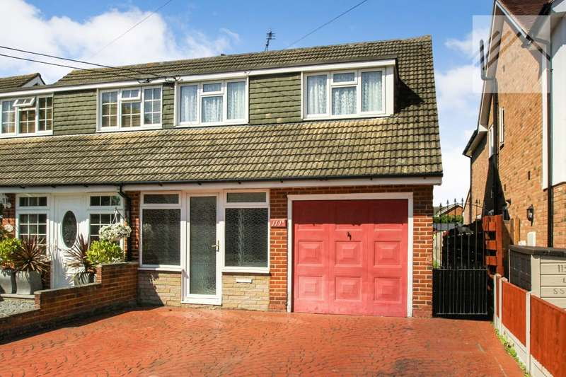 4 Bedrooms Semi Detached House for sale in Swan Lane, Wickford