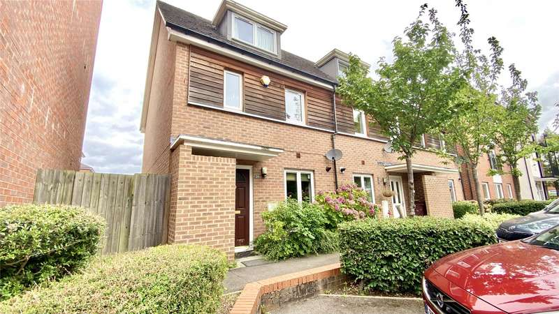 3 Bedrooms End Of Terrace House for sale in Meadow Way, Caversham, Reading, Berkshire, RG4