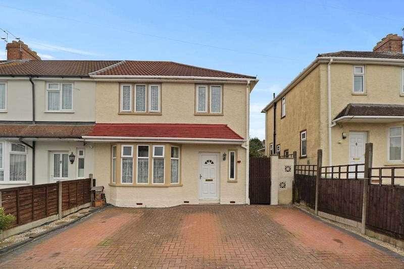 3 Bedrooms Semi Detached House for sale in Woodyleaze Drive, Hanham, Hanham