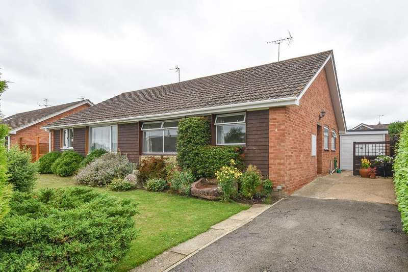 2 Bedrooms Semi Detached Bungalow for sale in Paxhill Lane, Twyning, Tewkesbury
