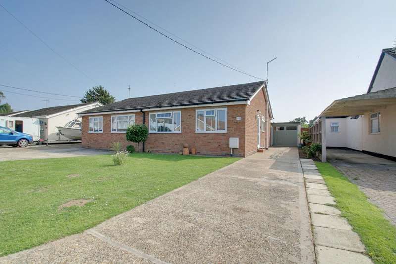 2 Bedrooms Semi Detached Bungalow for sale in Holland Road, Little Clacton, Clacton-On-Sea