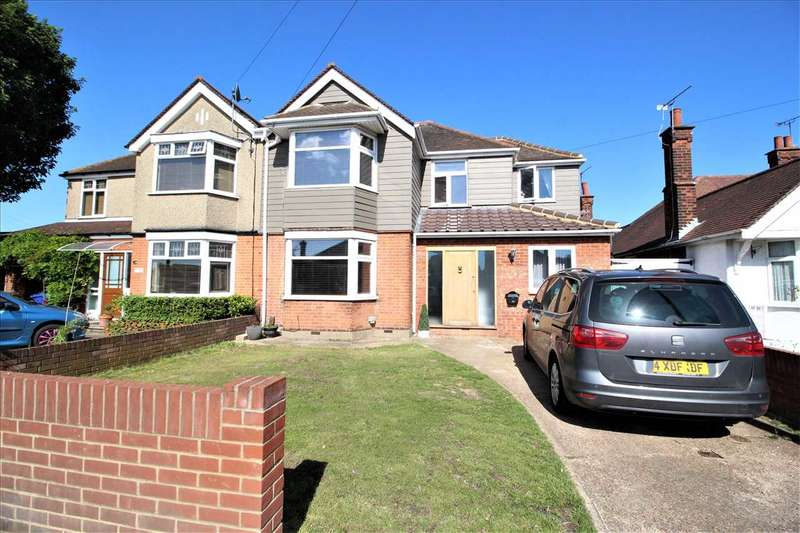 5 Bedrooms Semi Detached House for sale in Blackshots Lane, Grays