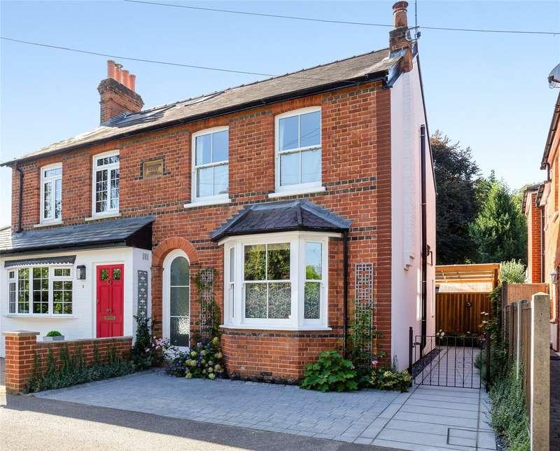3 Bedrooms Semi Detached House for sale in Parkside Road, Sunningdale, Berkshire, SL5