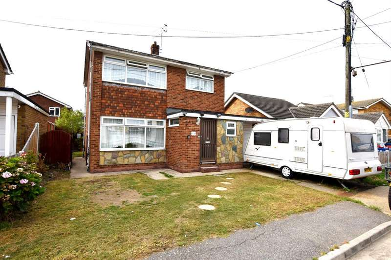 3 Bedrooms Detached House for sale in Henson Avenue, Canvey Island