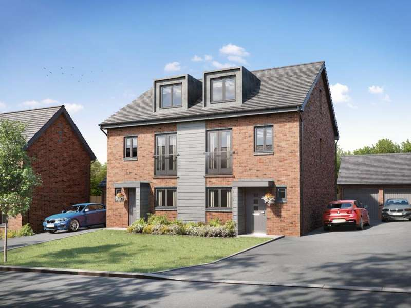 4 Bedrooms Semi Detached House for sale in Brockholes Brow, Preston, Lancashire