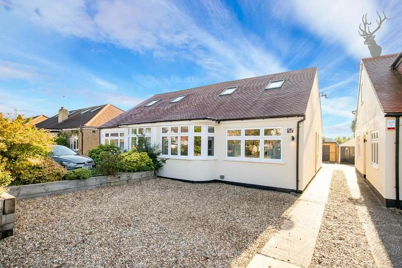 4 Bedrooms Semi Detached Bungalow for sale in Orchard Drive, Theydon Bois, Epping