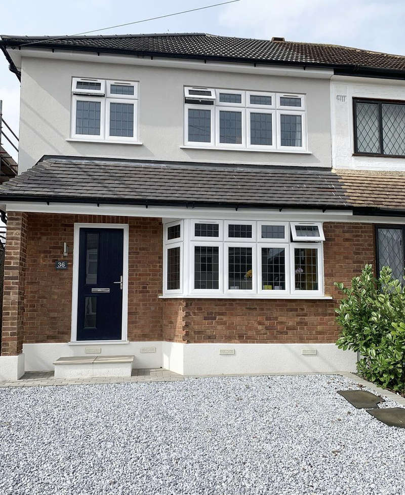 3 Bedrooms Semi Detached House for sale in Ethelburga Road, Romford, Essex RM3