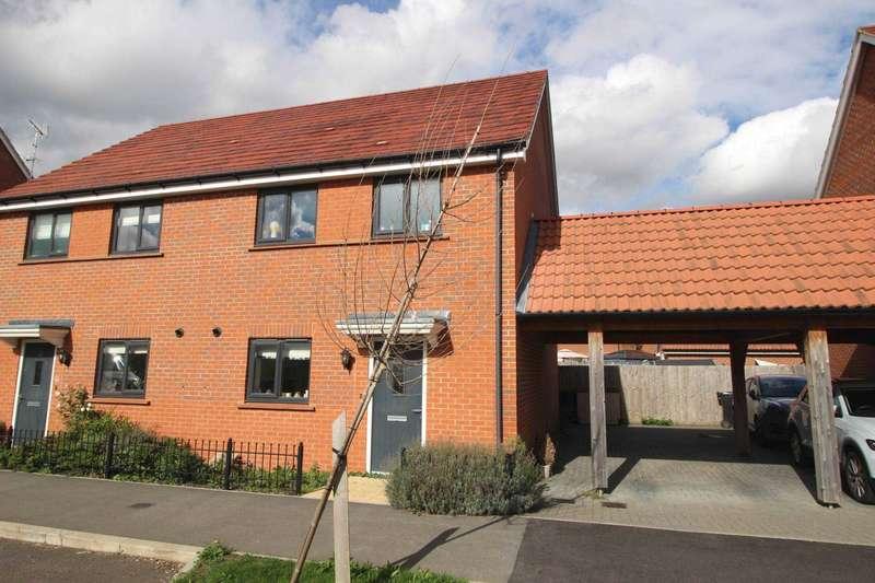 3 Bedrooms Semi Detached House for sale in Ben Cobey Avenue, Maldon