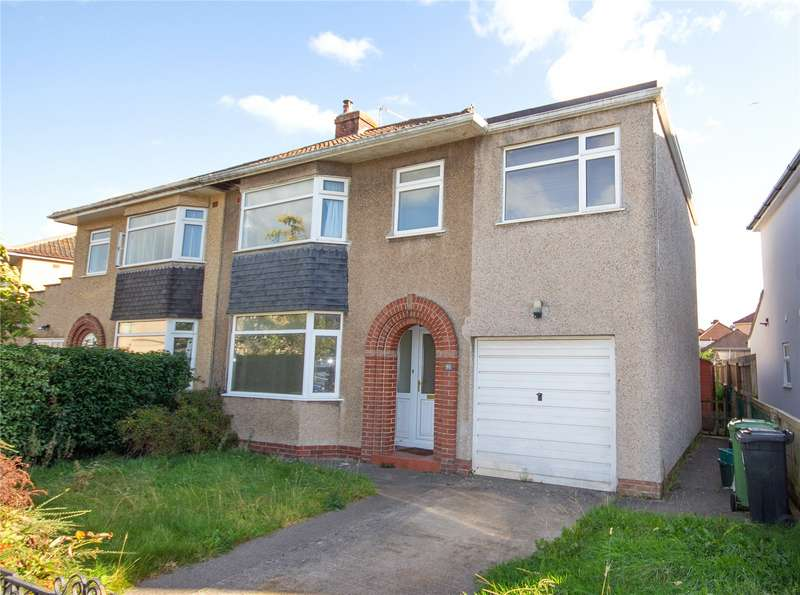 4 Bedrooms Property for sale in Fouracre Crescent, Bromley Heath, Bristol BS16