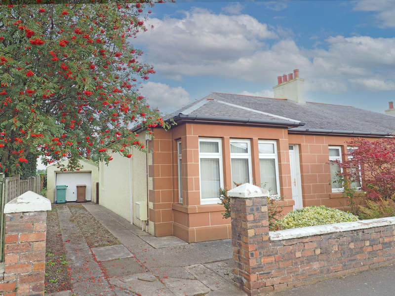 2 Bedrooms Semi Detached Bungalow for sale in Whinfield Avenue, Prestwick, KA9