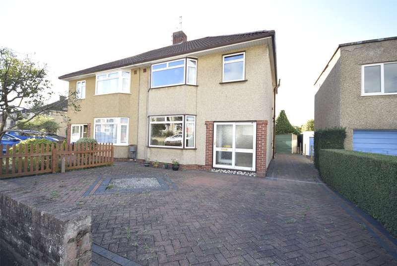 3 Bedrooms Semi Detached House for sale in Heath Road, Downend, Bristol, BS16