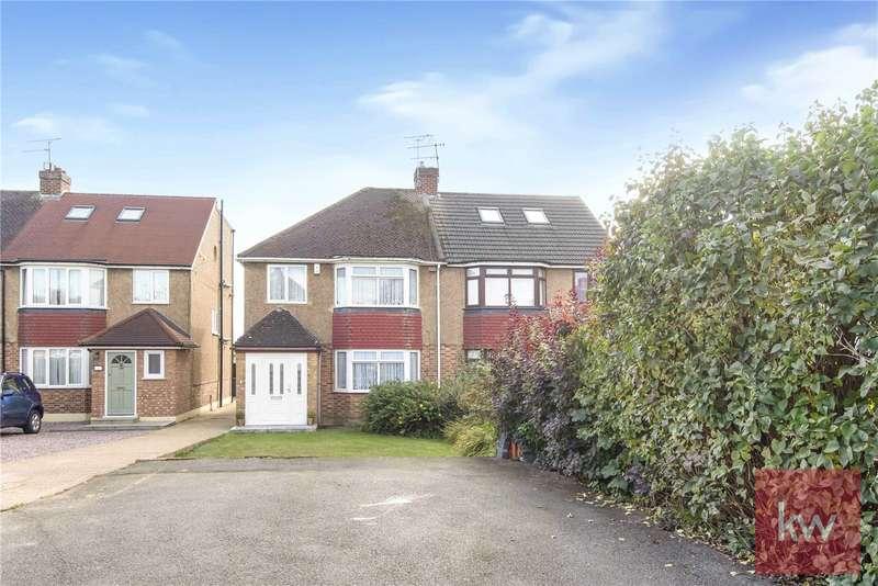 3 Bedrooms Semi Detached House for sale in Westlands Avenue, Taplow, Berkshire, SL1