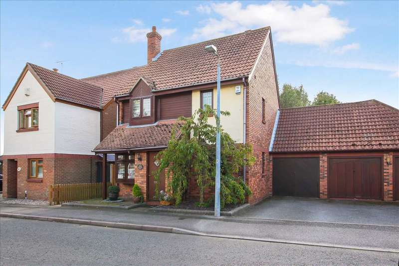 3 Bedrooms Detached House for sale in Antelope Avenue, Chafford Hundred