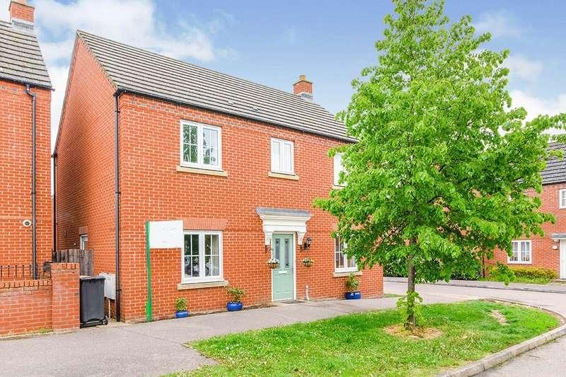 4 Bedrooms Detached House for sale in Grenadier Close, Bedford, Bedfordshire, MK41