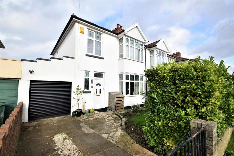 3 Bedrooms Semi Detached House for sale in Cherington Road, Westbury-On-Trym