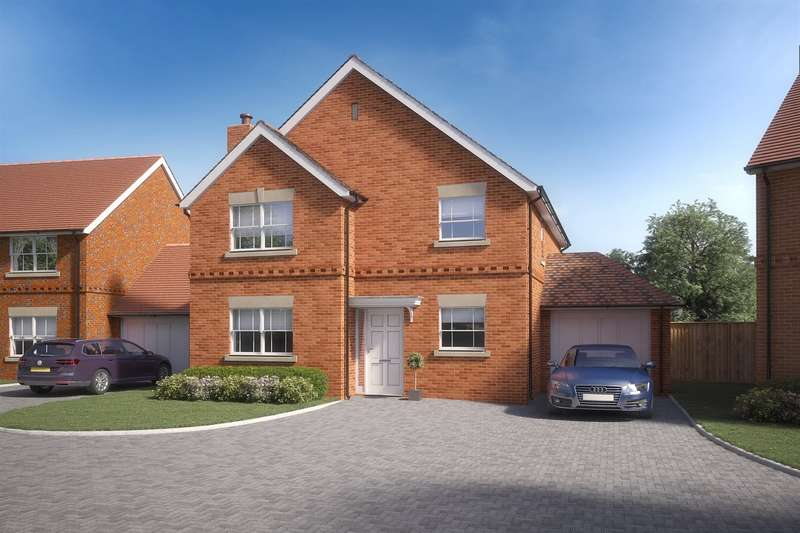 4 Bedrooms Detached House for sale in Canberra Lake Way, Charvil, RG10