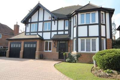 5 Bedrooms Detached House for sale in Chiltern Close, Bushey