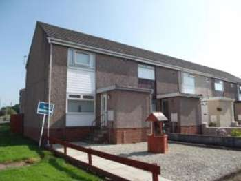 2 Bedrooms End Of Terrace House for sale in Castleview Avenue, Galston, East Ayrshire