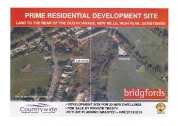 Land Commercial for sale in Marsh Lane, New Mills, High Peak, Derbyshire