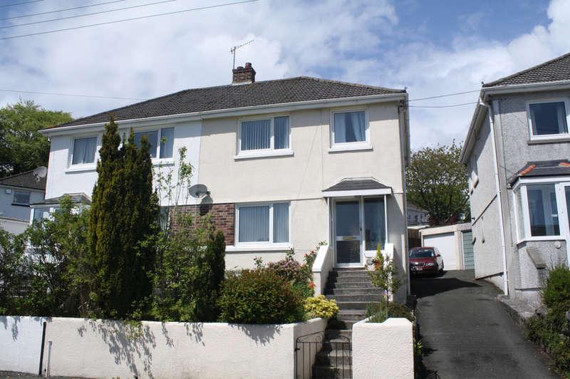 3 Bedrooms Semi Detached House for sale in Wembury Road, Elburton.