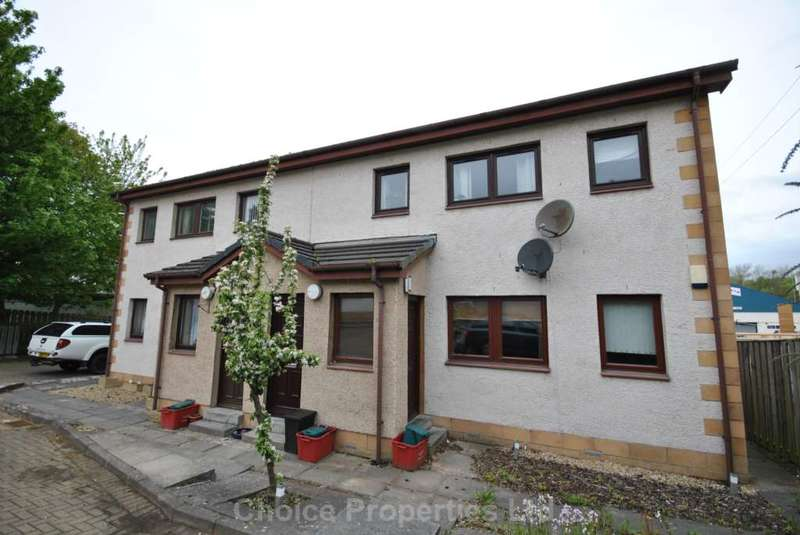2 Bedrooms Flat for sale in Moodie Court, Kilmarnock, KA1 4DP