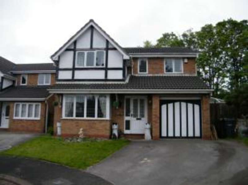 4 Bedrooms Detached House for sale in Elizabethan Way, Rudheath, Northwich, Cheshire
