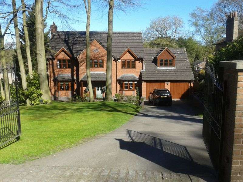 5 Bedrooms Detached House for sale in Newcastle Road, Loggerheads, TF9