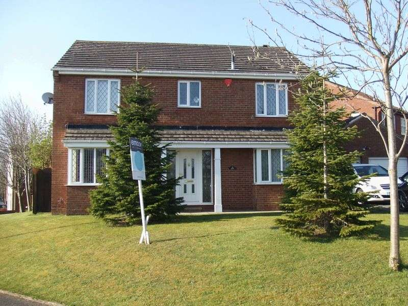 4 Bedrooms Detached House for sale in Whinston close, Hartlepool
