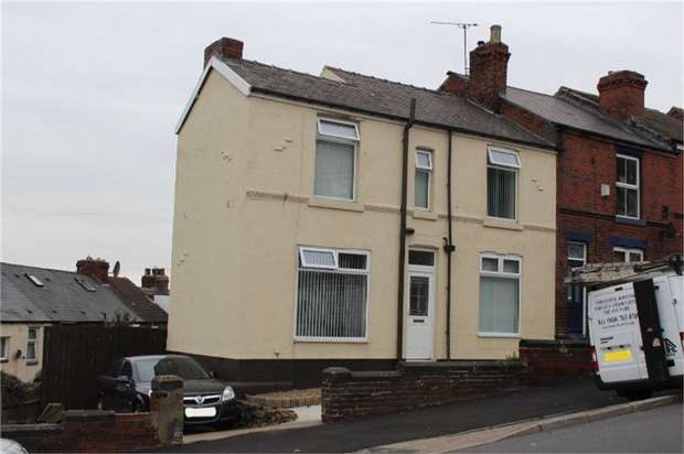 3 Bedrooms End Of Terrace House for sale in Jenkin Road, Sheffield, South Yorkshire
