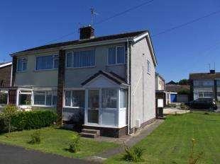 3 Bedrooms Semi Detached House for sale in Garreglwyd Park, Holyhead, Sir Ynys Mon, LL65