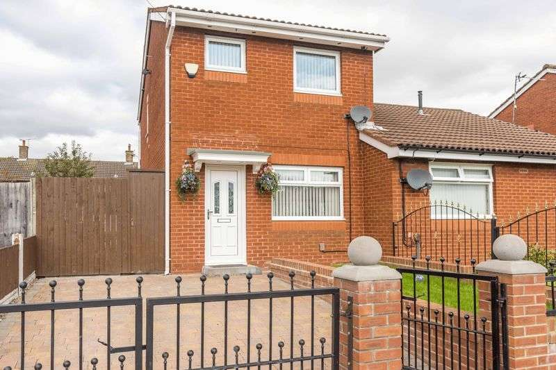 2 Bedrooms Semi Detached House for sale in Elstead Road, Kirkby