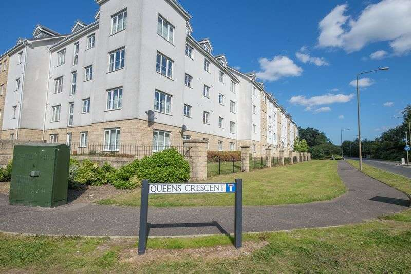 2 Bedrooms Flat for sale in Queens Crescent, Livingston