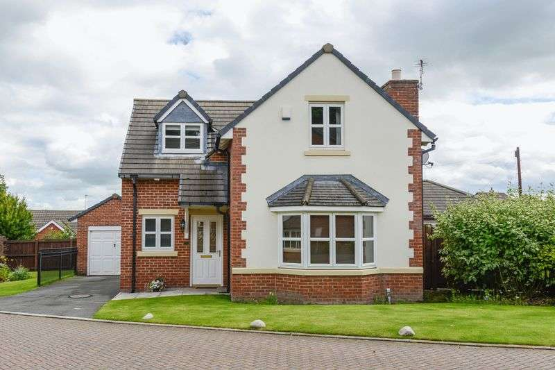 3 Bedrooms Detached House for sale in Anchor Fields, Eccleston