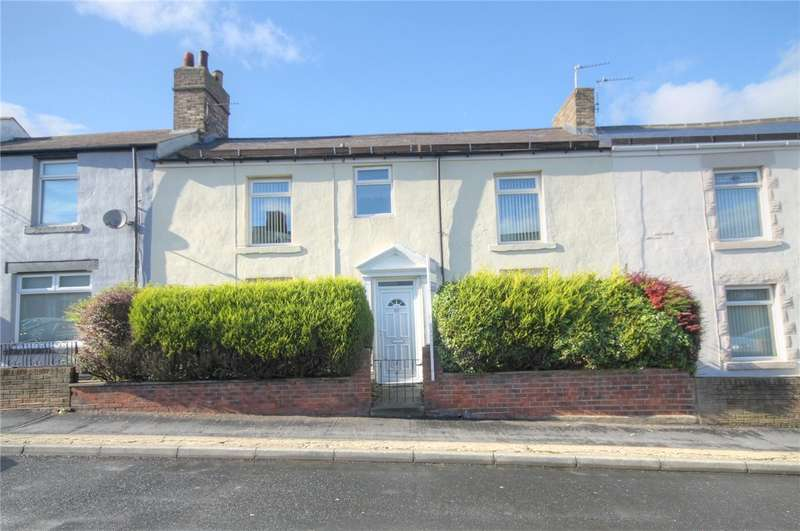4 Bedrooms Terraced House for sale in Sherburn Terrace, Consett, County Durham, DH8