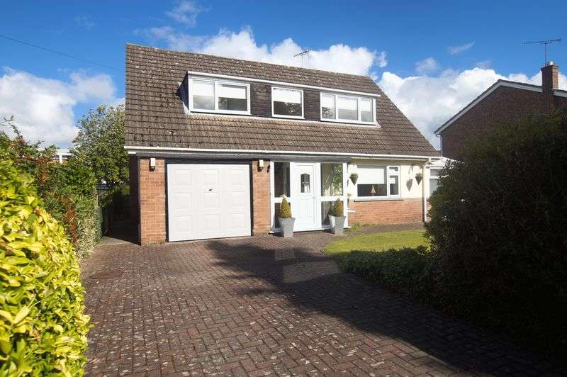 4 Bedrooms Detached House for sale in Bodwyn Crescent, Gresford, Wrexham