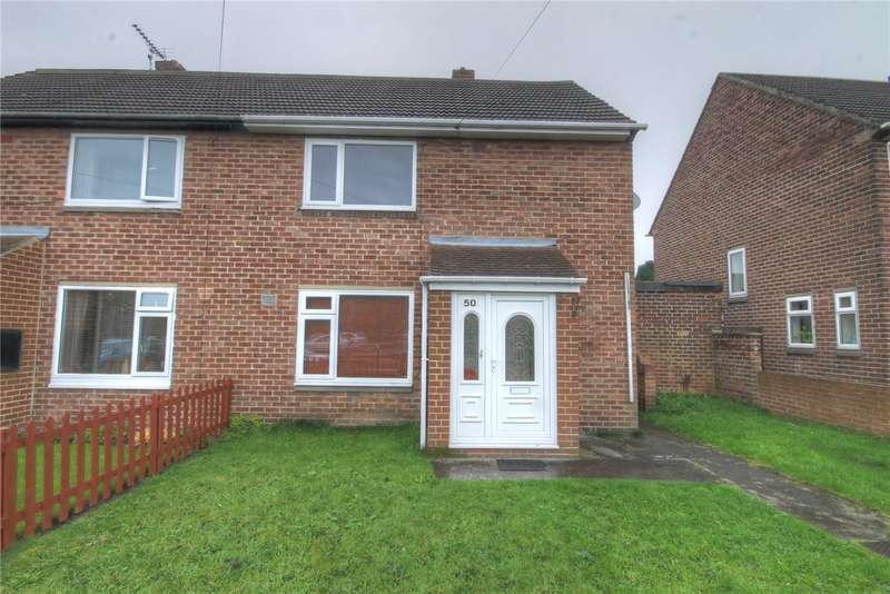 2 Bedrooms Semi Detached House for sale in Newton Drive, Framwellgate Moor, Durham, DH1
