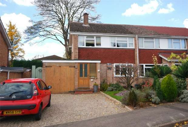 3 Bedrooms Semi Detached House for sale in Holmer, Hereford, Herefordshire