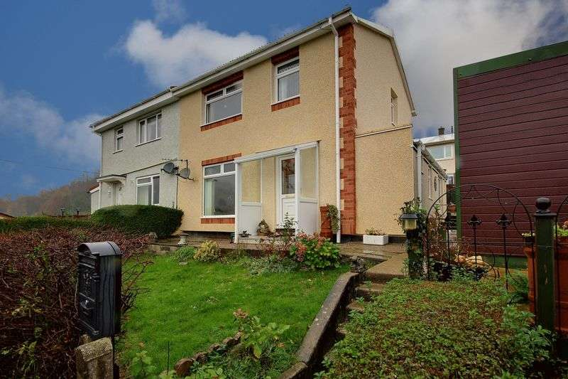 3 Bedrooms Semi Detached House for sale in Parkes Lane, Pontypool