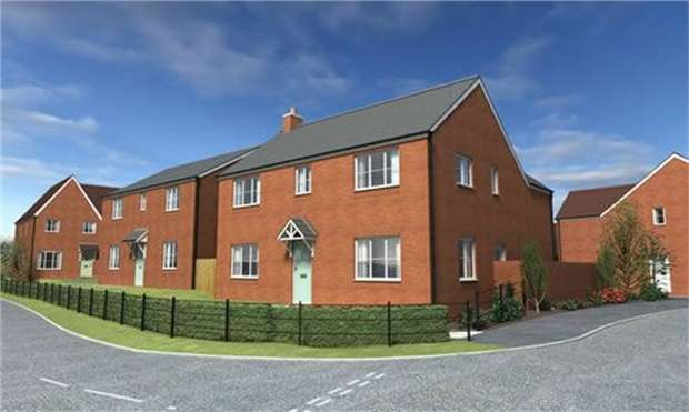 Detached House for sale in Meadow View, Holmer, Hereford