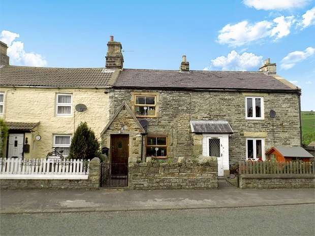 2 Bedrooms Terraced House for sale in South View, Daddry Shield, Bishop Auckland, Durham