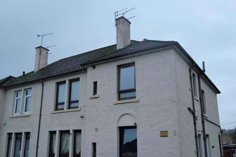 2 Bedrooms Flat for sale in Banchory Place, Alloa