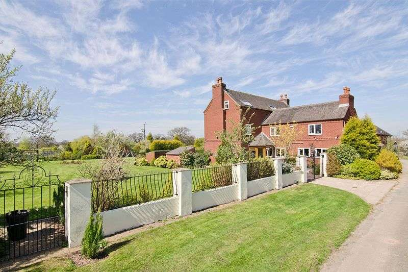 5 Bedrooms Detached House for sale in Goldhayfields Farm, Blithbury, Rugeley