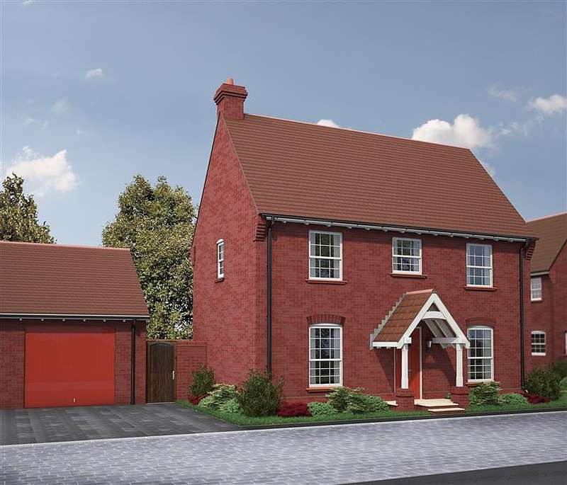4 Bedrooms Detached House for sale in Regency Village, Chain Hill, Wantage, OX12
