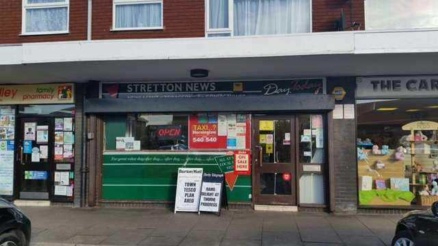 2 Bedrooms Shop Commercial for sale in Newsagents For Sale, Main Street, Stretton