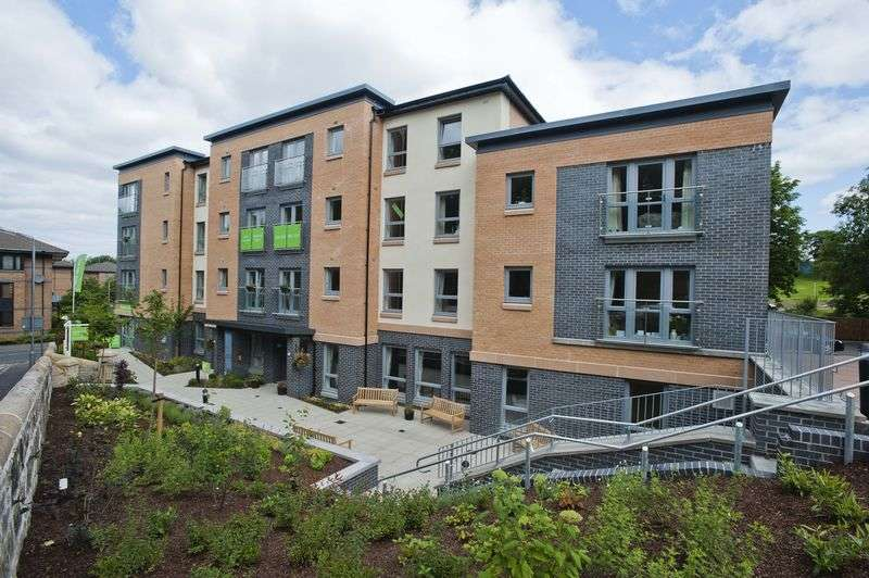 2 Bedrooms Flat for sale in Ashwood Court, Paisley: BRAND NEW 2 bed retirement apartment- Double patio doors - **LAST APARTMENT ON SITE**