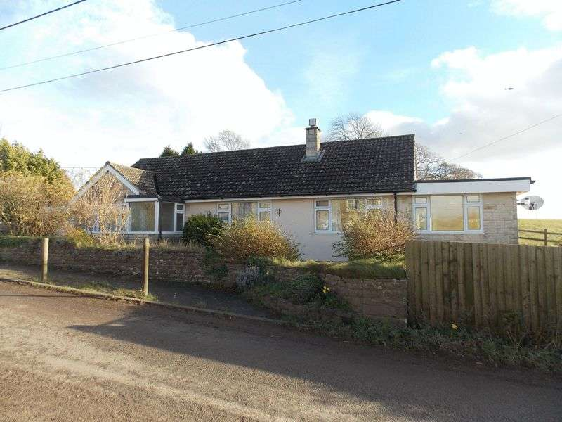 3 Bedrooms Detached Bungalow for sale in North Brewham, Bruton