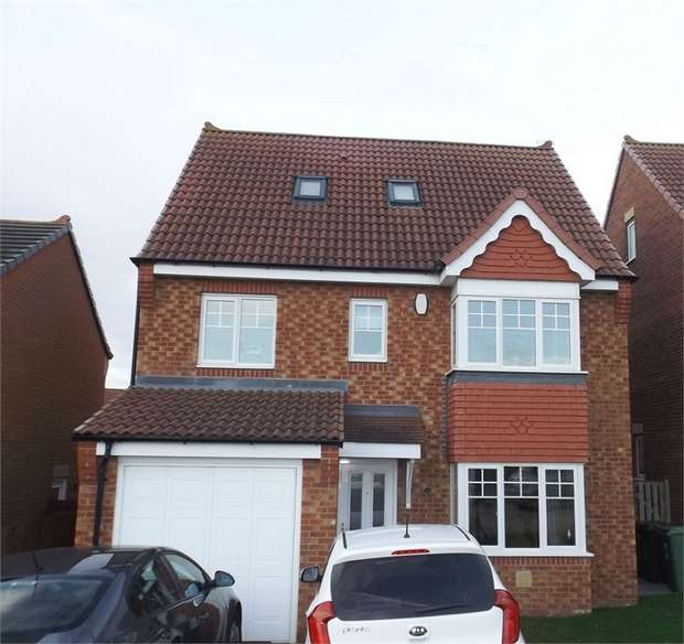 5 Bedrooms Detached House for sale in Merlin Way, Hartlepool, Durham