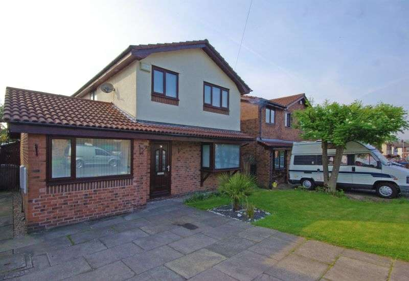 3 Bedrooms Detached House for sale in Brayshaw Close, Heywood