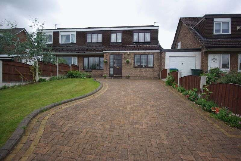 5 Bedrooms Semi Detached House for sale in Sherbourne Drive, Heywood